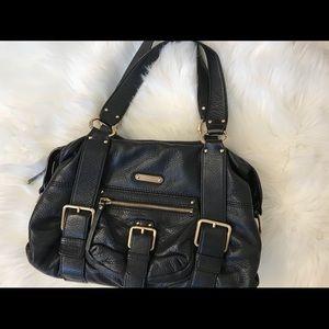 BLACK leather Michael KORS Bag